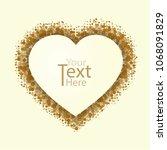 background of heart card for...   Shutterstock .eps vector #1068091829