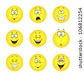 vector illustration set of cool ... | Shutterstock .eps vector #106812254