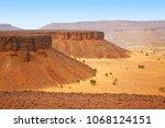 Beautiful view of the Adrar Plateau and canyons, Mauritania