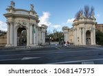 rome  italy   march 19  2018 ... | Shutterstock . vector #1068147575