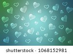 light blue  green vector...   Shutterstock .eps vector #1068152981