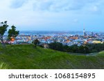 view to auckland new zealand... | Shutterstock . vector #1068154895