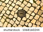 fire hydrant on the floor ... | Shutterstock . vector #1068160244