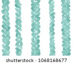 colorful hand drawn texture of... | Shutterstock . vector #1068168677