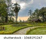 beauty of park | Shutterstock . vector #1068191267