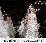 new york  ny  usa   april 12 ... | Shutterstock . vector #1068210545