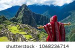 traveller tourist wearing... | Shutterstock . vector #1068236714