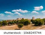 medieval fortress akkerman in... | Shutterstock . vector #1068245744