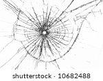 broken window  background of... | Shutterstock . vector #10682488