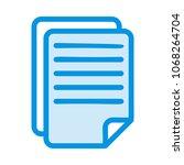 document report file  | Shutterstock .eps vector #1068264704