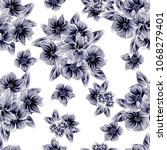 abstract elegance seamless... | Shutterstock . vector #1068279401