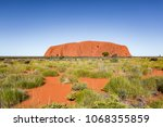 northern territory state ... | Shutterstock . vector #1068355859