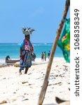 diani beach  mombasa  kenya  ... | Shutterstock . vector #1068358349