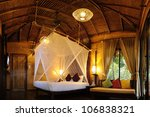 bedroom tropical asian style | Shutterstock . vector #106838321