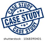 case study blue round grunge... | Shutterstock .eps vector #1068390401