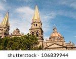 guadalajara cathedral  jalisco  ... | Shutterstock . vector #106839944