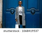 paris  france   march 2  2018 ... | Shutterstock . vector #1068419537