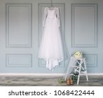 Composition   wedding dress on...