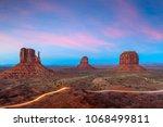 monument valley  arizona  usa... | Shutterstock . vector #1068499811