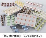 Small photo of Set of medications for a quick recovery and sustain life