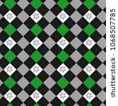 seamless argyle pattern....   Shutterstock .eps vector #1068507785