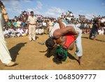 bhuj  gujarat  india 23 october ... | Shutterstock . vector #1068509777