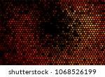 dark orange vector abstract...   Shutterstock .eps vector #1068526199