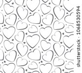 heart simple  icon background.... | Shutterstock . vector #1068530594