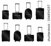 Traveling Bag Vector...