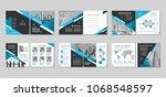 brochure creative design.... | Shutterstock .eps vector #1068548597