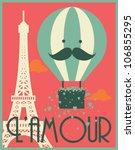 Hot Air Balloon And Paris...