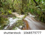 floodwater pouring through the...   Shutterstock . vector #1068575777