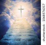 The Calvary. Jesus On The Cross....