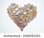 the money for love  care ...   Shutterstock . vector #1068581201