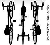 bicycle vector illustration | Shutterstock . vector #106858409