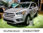 new york city march 28  ford... | Shutterstock . vector #1068637889