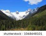 bugaboo spires in bugaboo... | Shutterstock . vector #1068648101