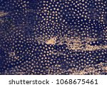 the lue textured background and ... | Shutterstock . vector #1068675461