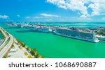 usa. florida. miami beach....   Shutterstock . vector #1068690887