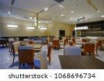 hotel restaurant interior | Shutterstock . vector #1068696734