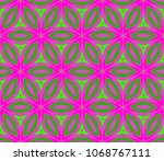 pattern pattern of abstract...   Shutterstock .eps vector #1068767111