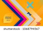 vector abstract background...   Shutterstock .eps vector #1068794567