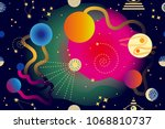 Abstract Space Background....