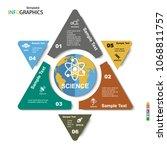 geometric infographic template...