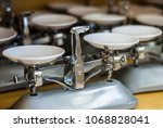 school scales for students... | Shutterstock . vector #1068828041