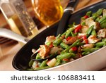 freshly prepared mixed... | Shutterstock . vector #106883411