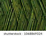 Shanghai Bamboo Fence Texture...
