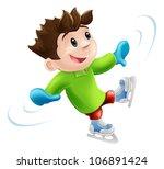 cartoon of a young man or boy... | Shutterstock .eps vector #106891424