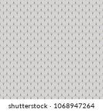 knitted blanket vector fabric... | Shutterstock .eps vector #1068947264
