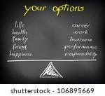 conceptual handwritten white... | Shutterstock . vector #106895669